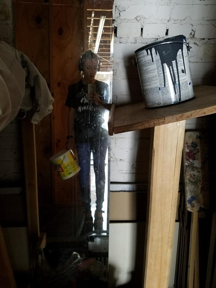 creepy hallway mirror - ashlyn_metcalf   ello