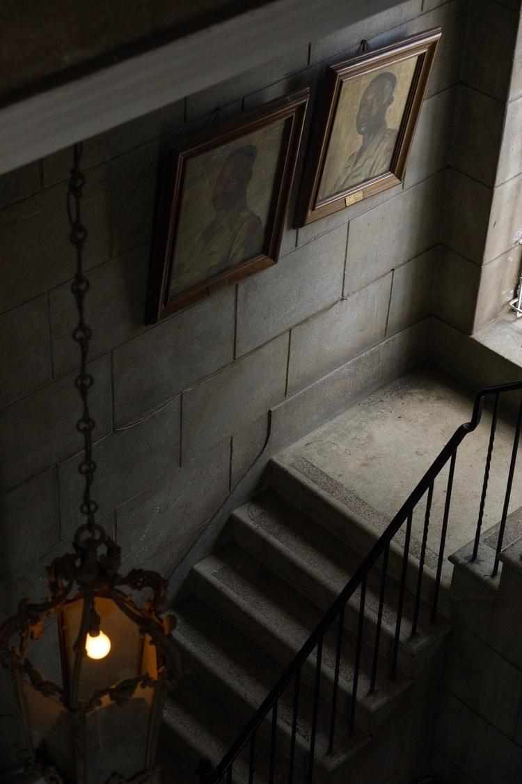 Ghosts. McMillian Memorial Libr - gabibi | ello