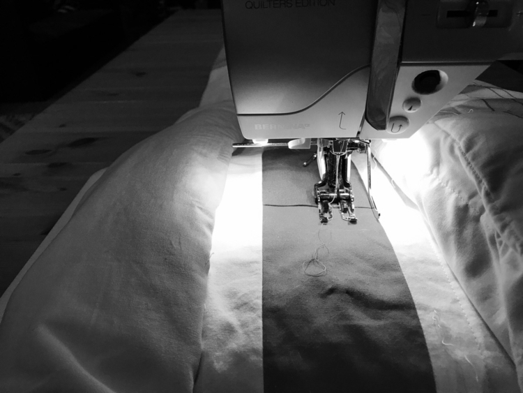 Late night quilting - sdevans | ello