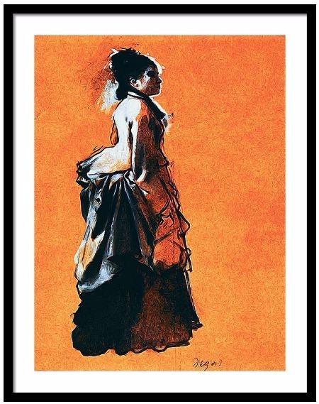 Edgar Degas - Young Woman Stree - pixbreak   ello