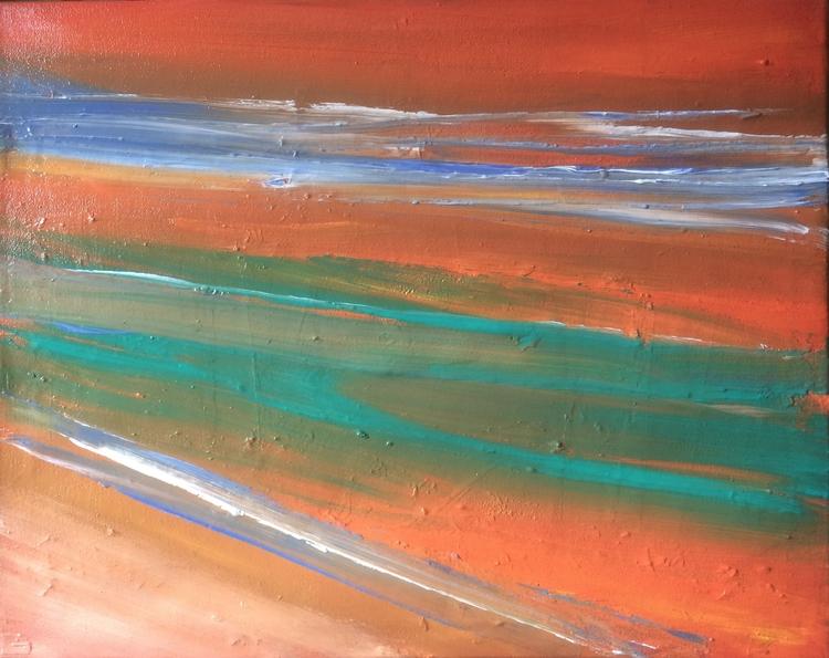 East dunkerk acryl canvas 40 50 - simondeclercq | ello