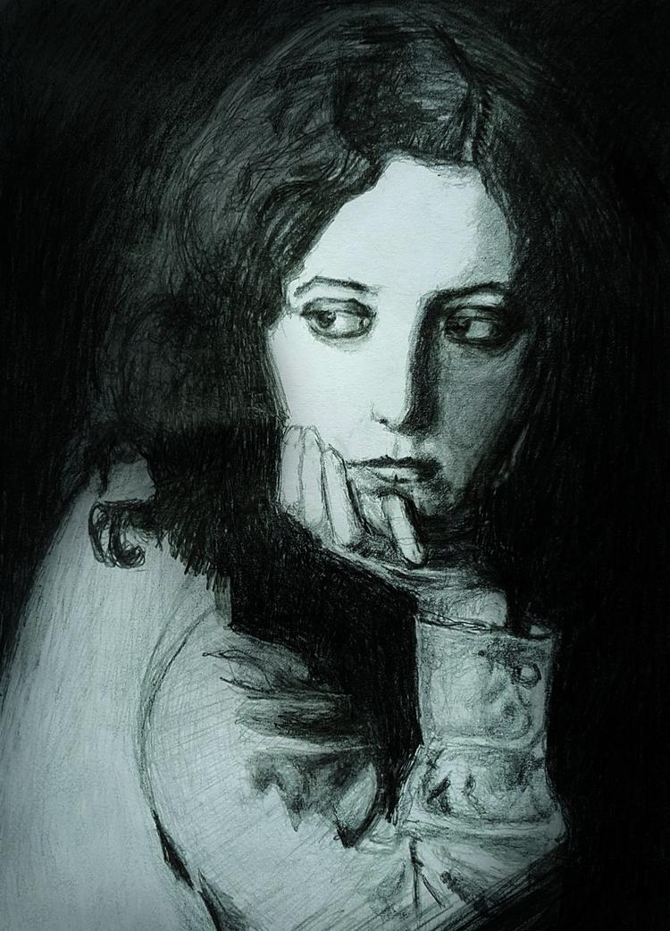 Musidora - musidora,, art, drawing - maksmj | ello