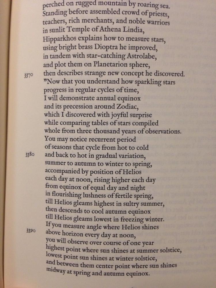 Hipparchus describes precession - surazeus | ello