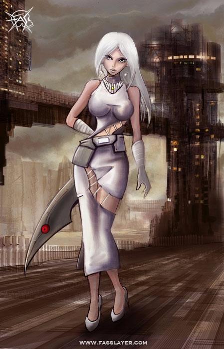 17-8-12 - assassin, illustration - fasslayer | ello