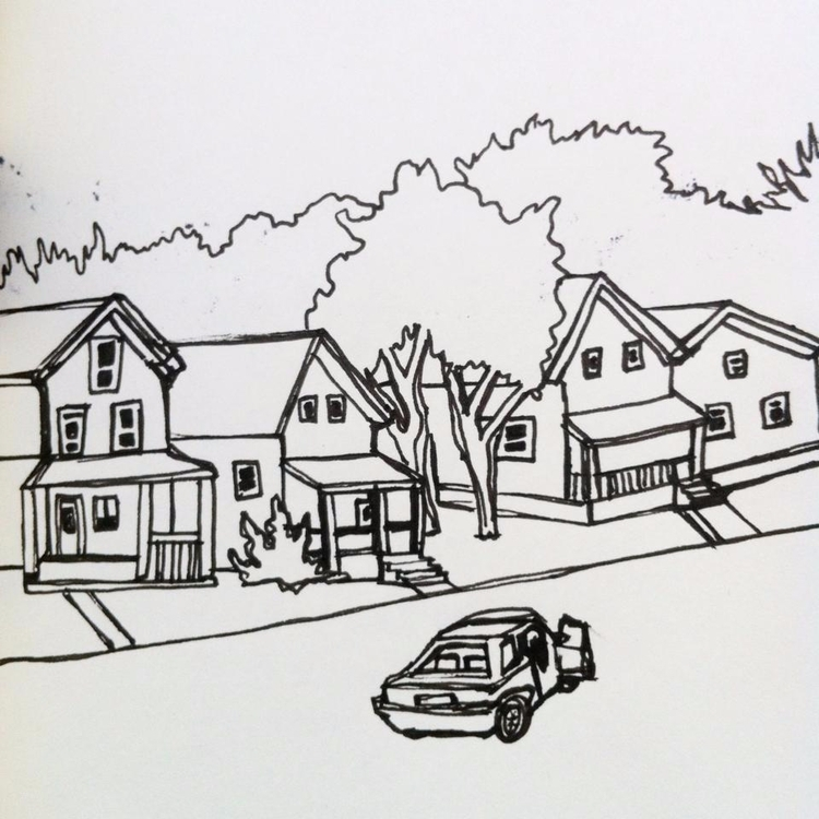 SKETCHBOOK PAGE - drawing - roth- | ello