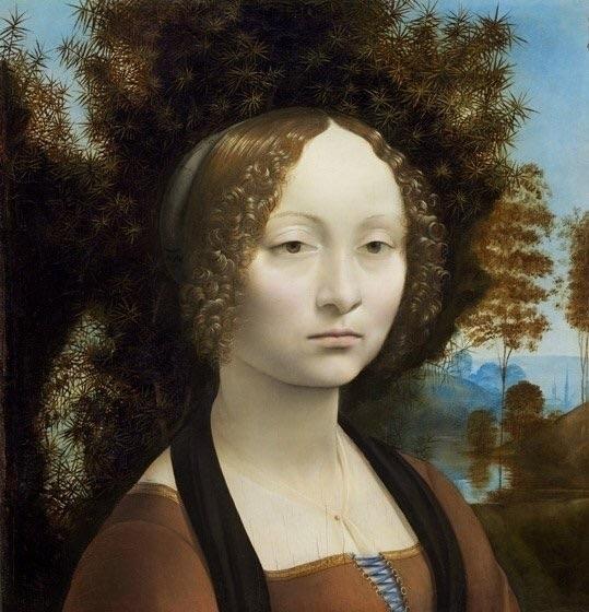 Ginevra de' Benci Da Vinci - davinci - bitfactory | ello