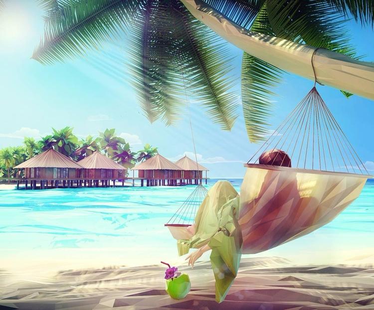 Chilling Maldives. Art Mat Szul - fabimo | ello