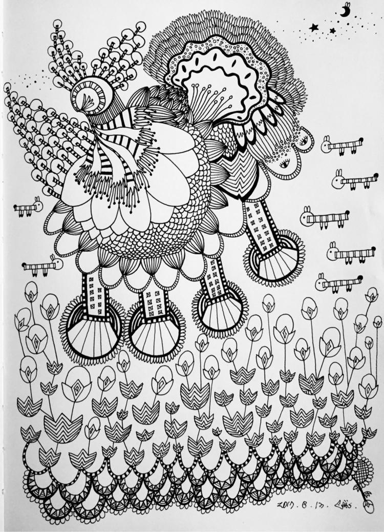 2017, ART, ILLUSTRATION, PENONPAPER - babasea | ello