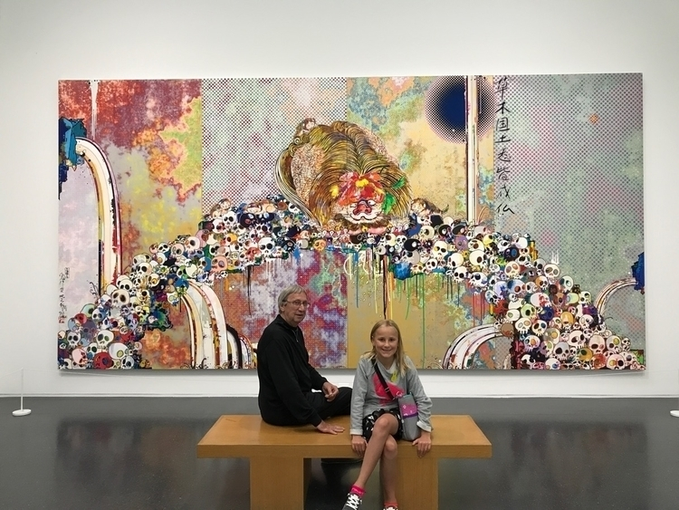Takashi Murakami Exhibit MCA, 7 - exinerartstudio | ello