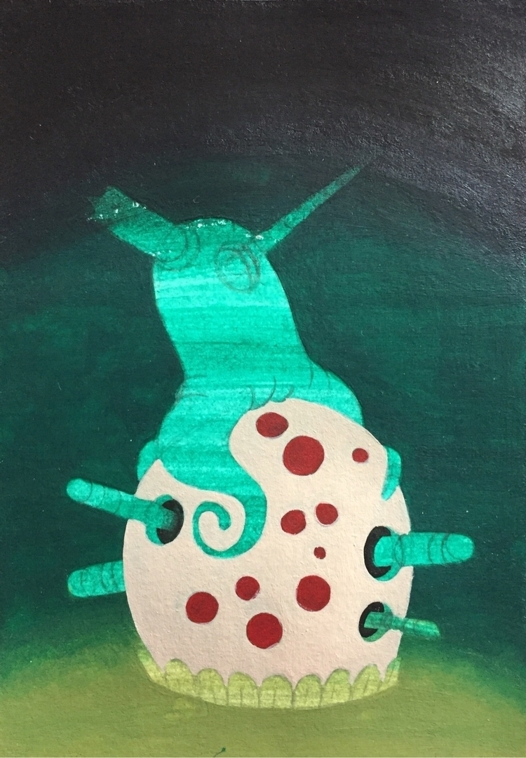 progress, art, wip, acrylic, painting - jimmy-p | ello