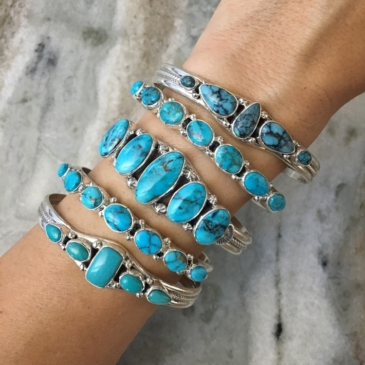 handcrafted 5 7 stone turquoise - sunfacetraders | ello