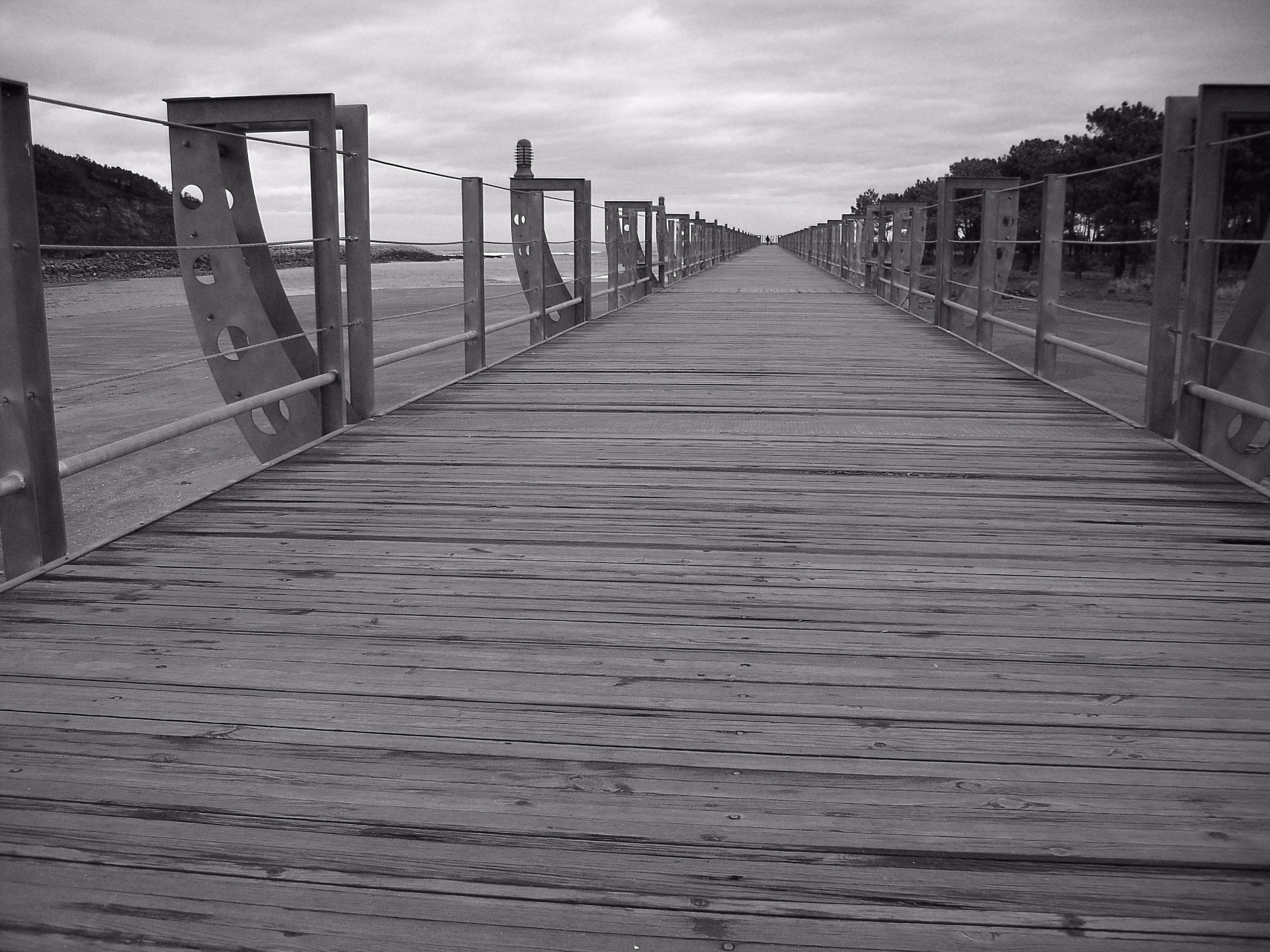 Walking beach - photography, blackwhite - ivop | ello