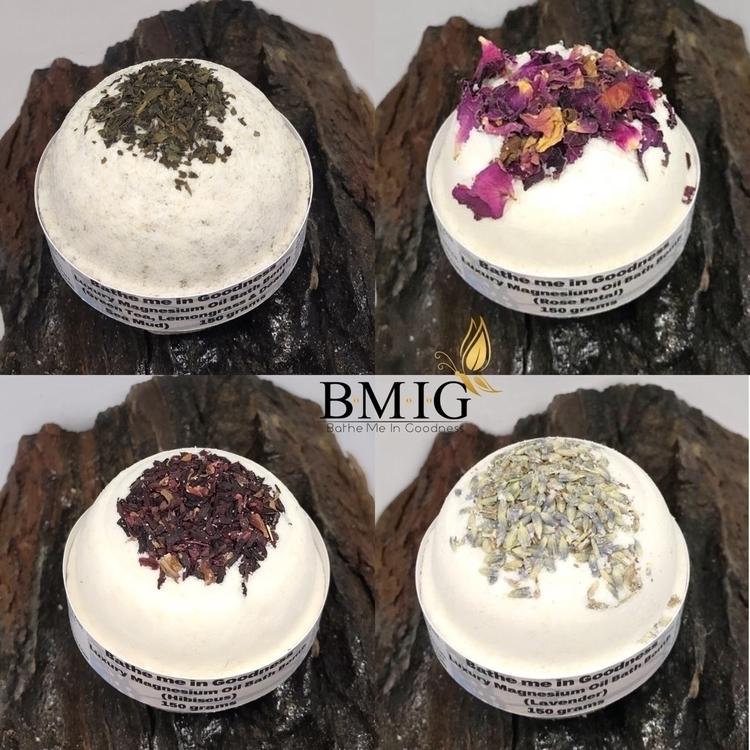 Luxury Magnesium Oil Bath Bombs - bathemeingoodness | ello