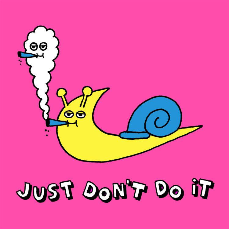 chill Monday  - nike, snail, justdoit - jangojim | ello