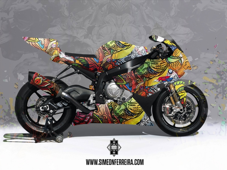 artwork pic BMW S1000RR version - simeonf | ello