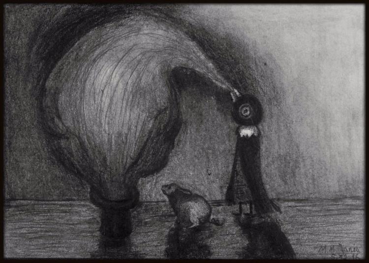 Illusionist glorious mind - drawing - maksmj | ello