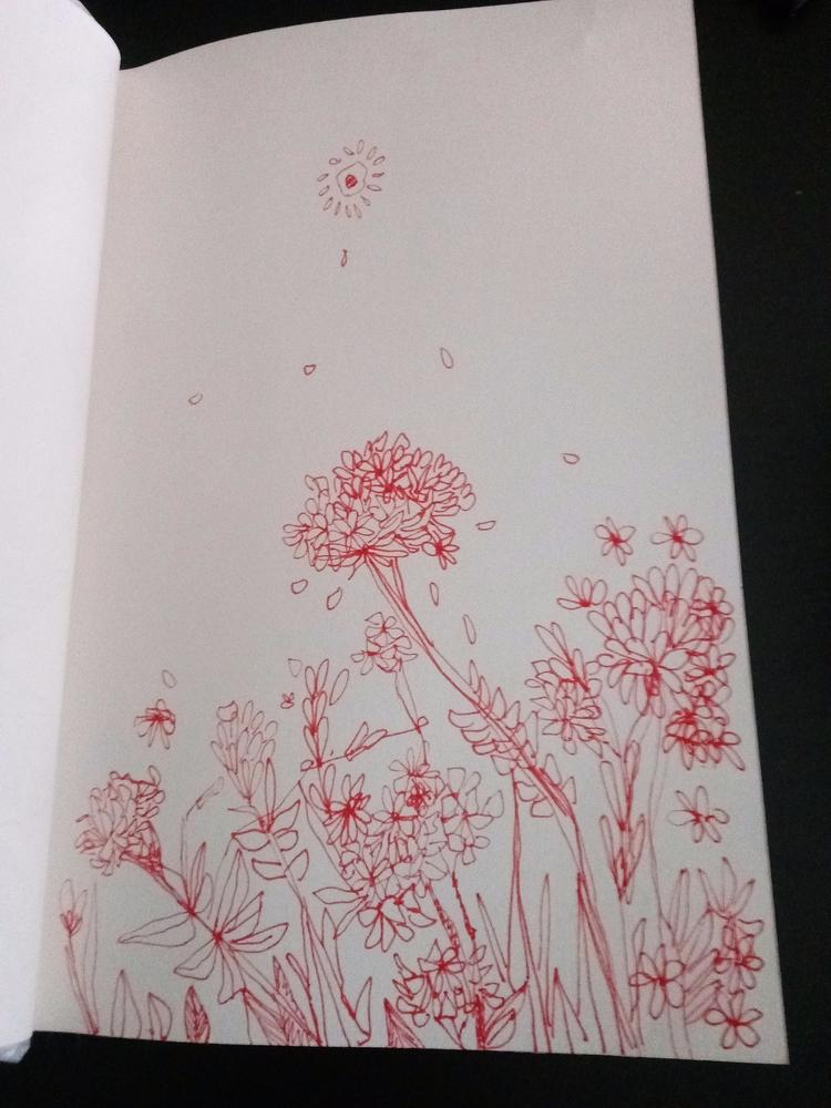 ink, sketchbook, artist, art - meatballvizzy   ello