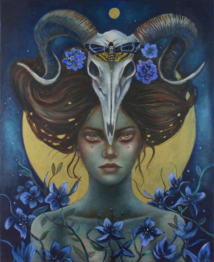Spell painting 2015 Celestial s - ingridtusell | ello