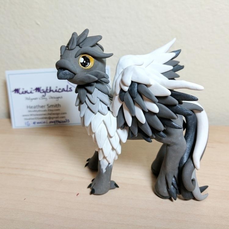Buckbeak! favorite sculpture en - minimythicals | ello
