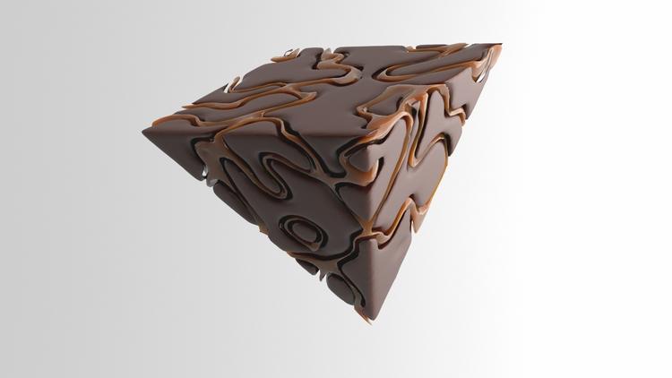 Blood Chocolate cozy Arnold - 3D - mitchfornever | ello
