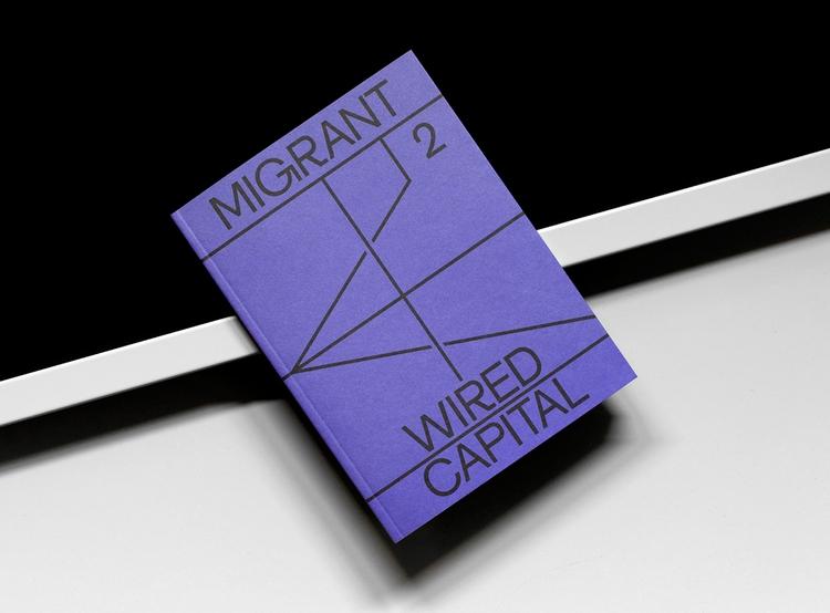 Book design Migrant Zurich base - northeastco | ello