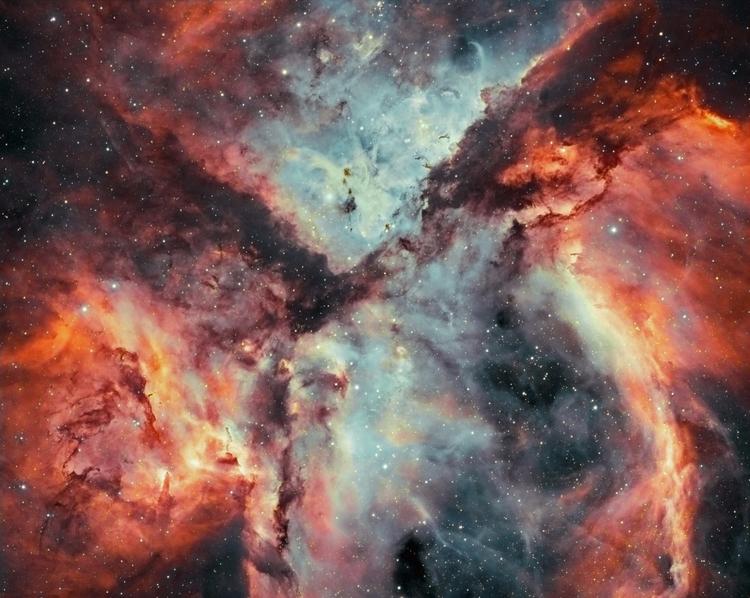 Stars, Gas, Dust Battle - stars - valosalo   ello