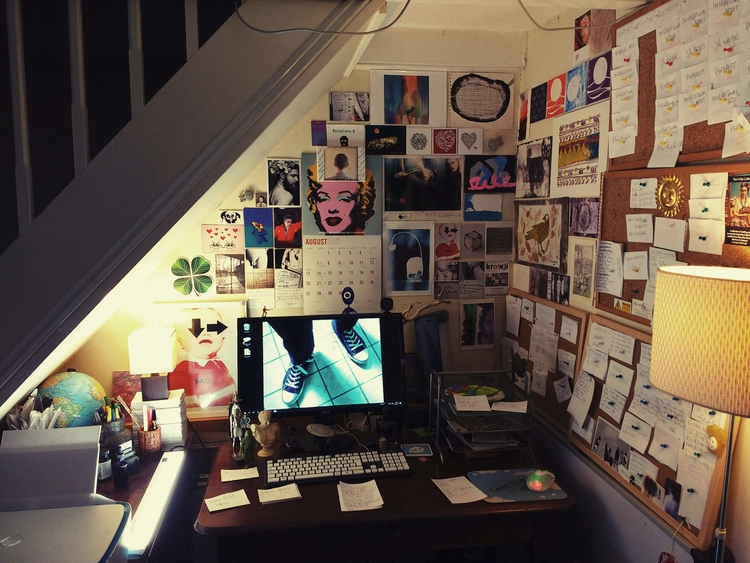 WORKSPACE - artist, writer, publisher - johnhopper | ello