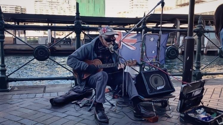 street singer Sydney - timetwob | ello
