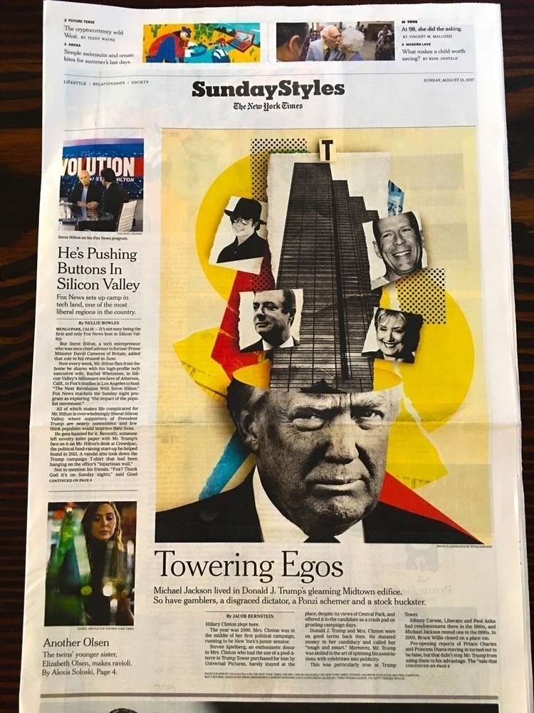 image Towering Egos cover NY Ti - lushhungarian | ello