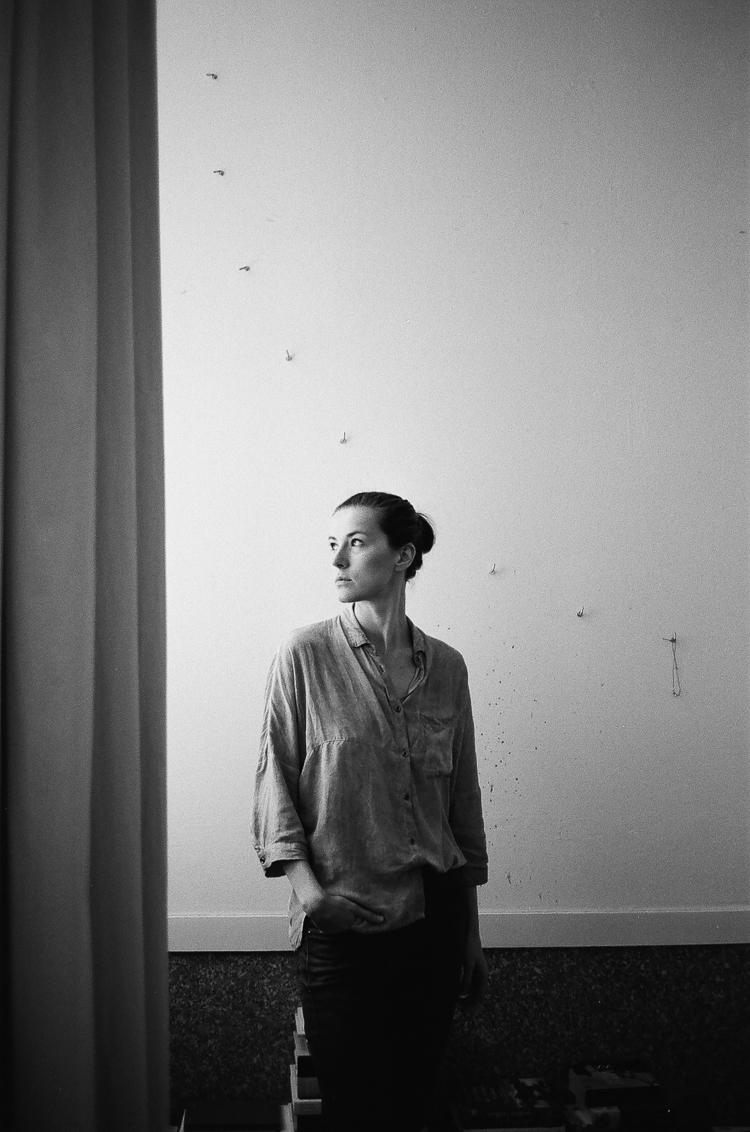 Justyna - film, blackandwhite, portrait - sh-i   ello