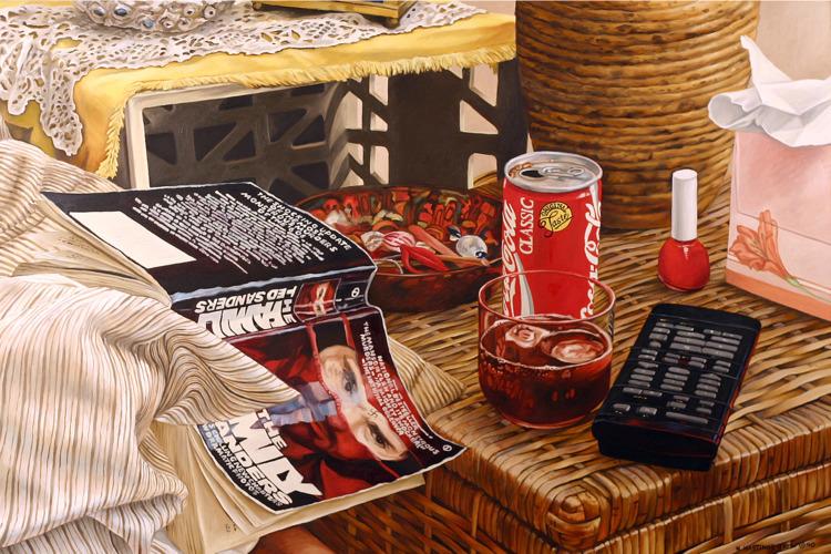 Memento Mori, 1990 oil canvas,  - nancyht | ello