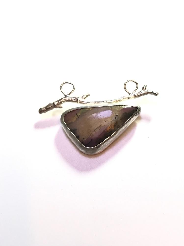 Pink opal sterling twig?! Lovin - mmmjewellerydesign | ello