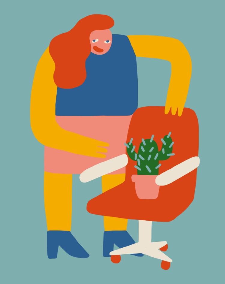 Cécile Gariépy illustrator dire - bldgwlf | ello