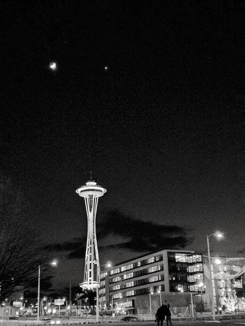 Night time Seattle - bobby_draco | ello