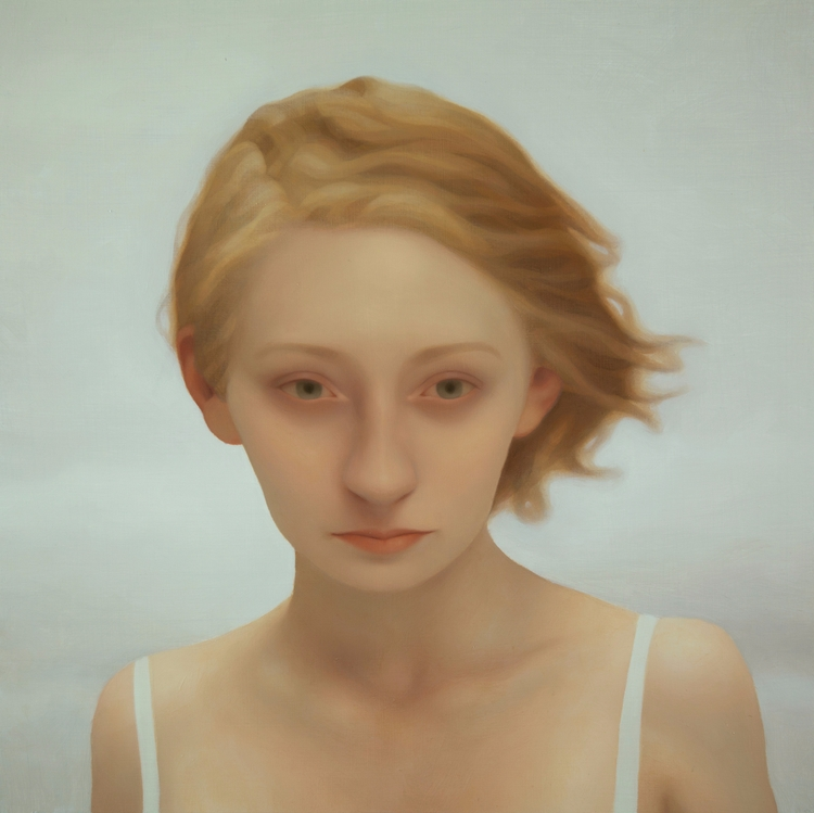 Alayna 1, oil wood, 2013 - painting - lucong | ello