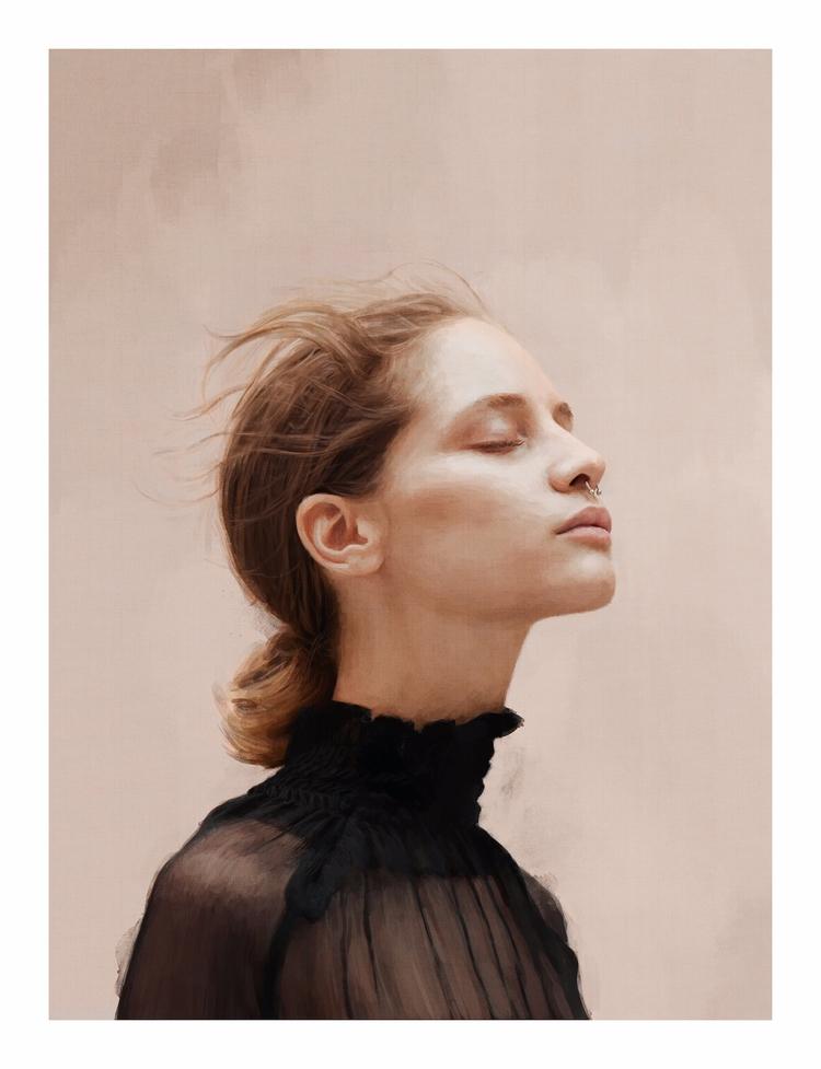 Portrait Melina Anton Dutilh - ipadpro - creativedebuts | ello