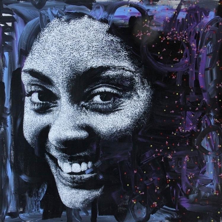 2012 canvas titled Constellatio - sebastienbouchard | ello