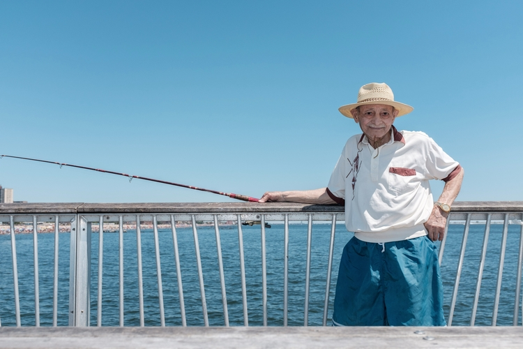 Fishing Coney Island, NYC - giseleduprez   ello