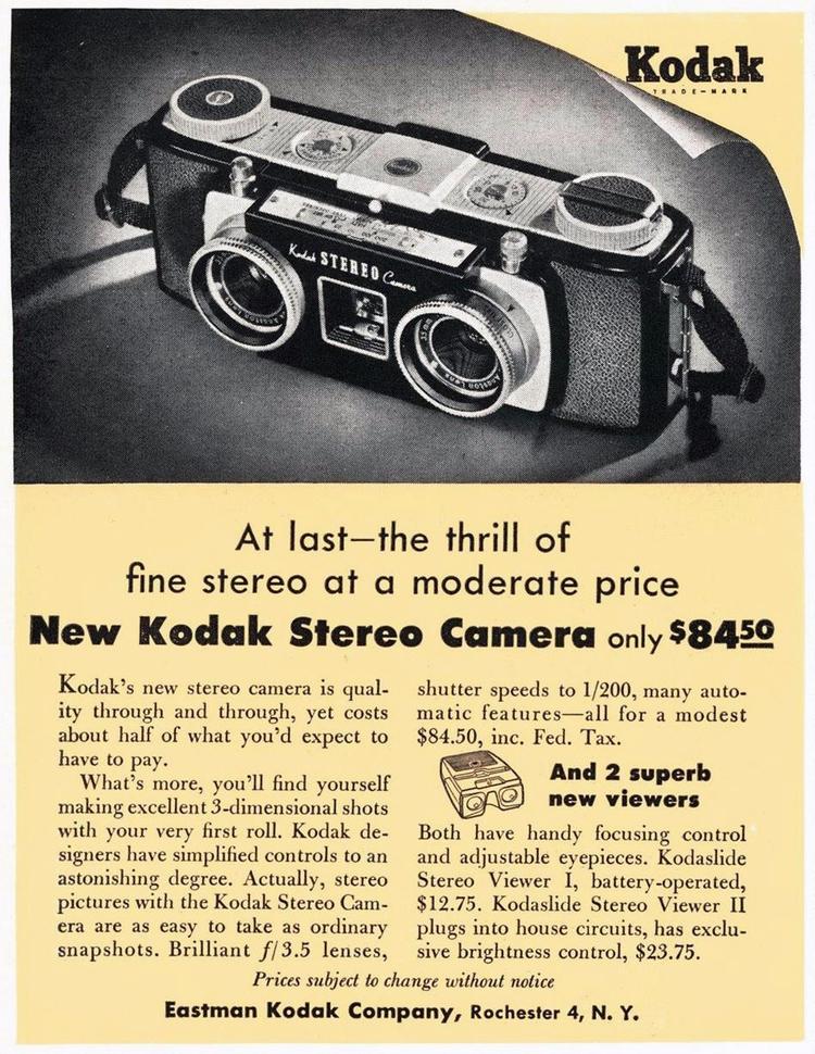Kodak advertisement 1954 - film - oldendaze   ello