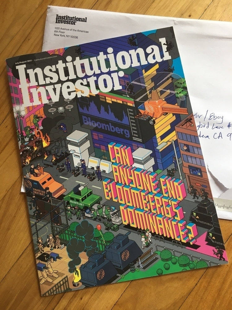 July/August cover Institutional - eboy | ello