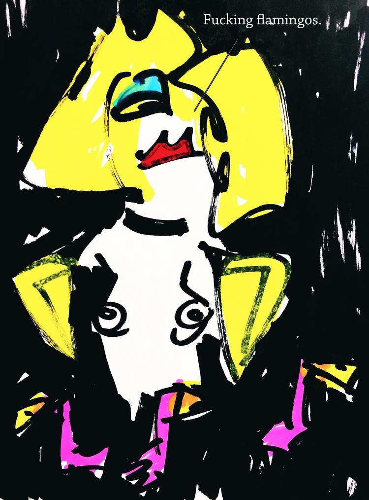 art, drawing, illustration, cartoon - jkalamarz | ello