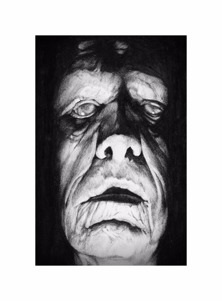 Bram Dracula Charcoal paper - charcoal - goragorskiy | ello