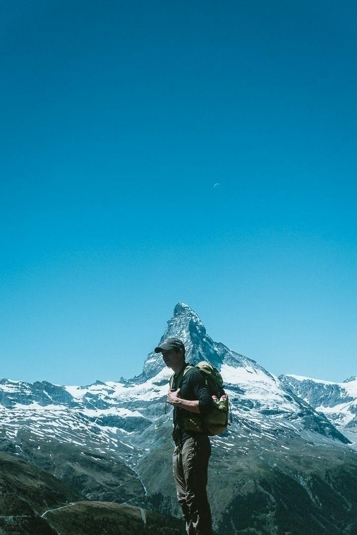 hiking, bring swiss friend - hiking#photography#switzerland#alps - marcantoine_vachon | ello