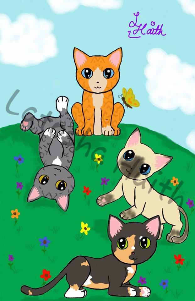 Cats cats - latosha90 | ello