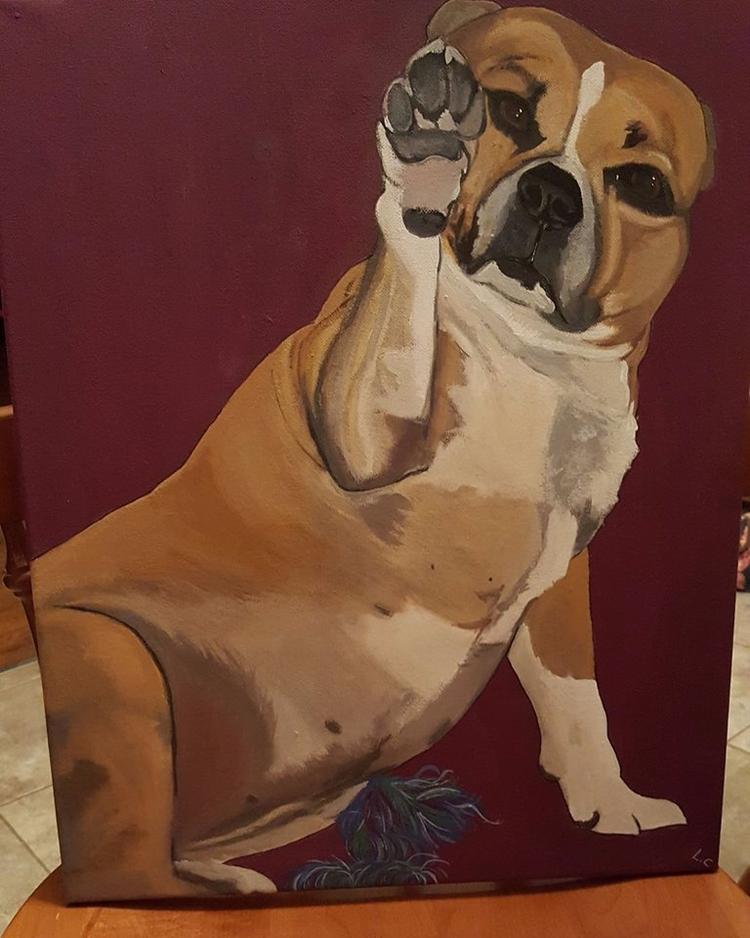 Pet portrait paintings pet! wor - lizzywhothefunkc | ello