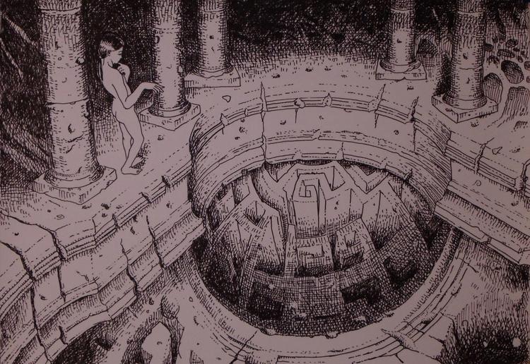 Ink paper. visit - pinomarkovich | ello