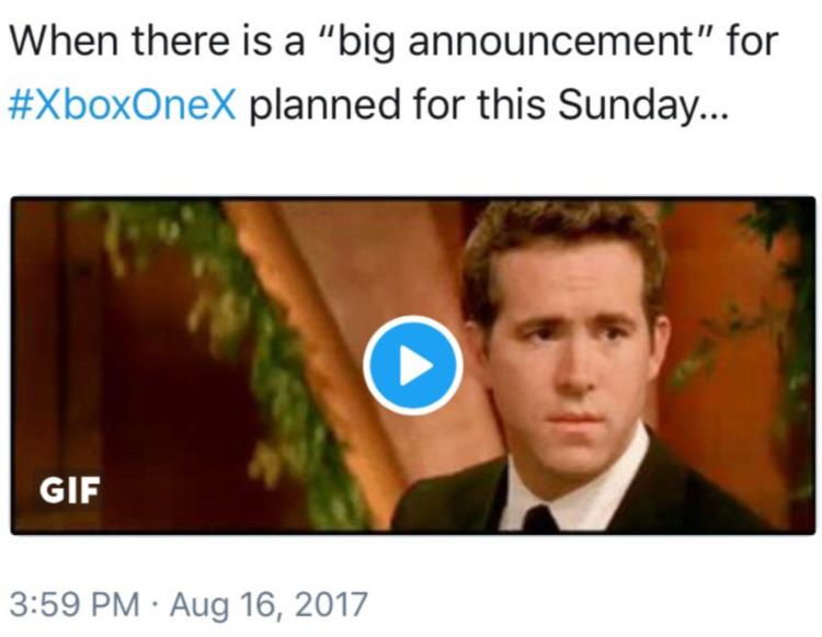 Deleted tweet suggests Xbox pre - bradstephenson | ello
