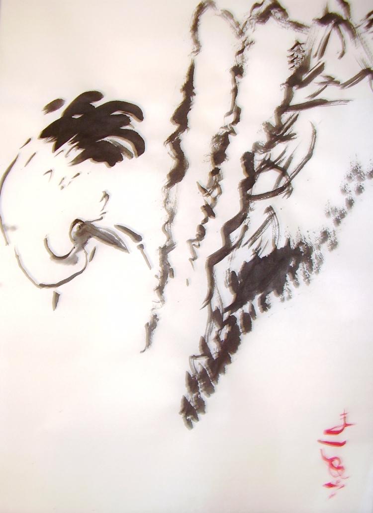 Crane Hills, rice paper, 18x 12 - clan_morrison_art | ello