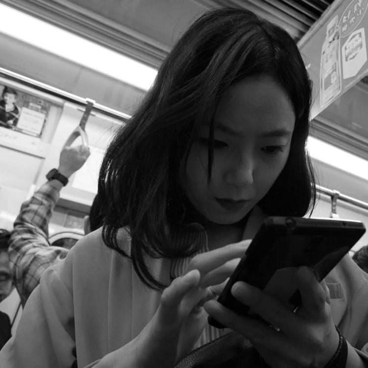 Tokio Black White. day holiday  - velviake | ello