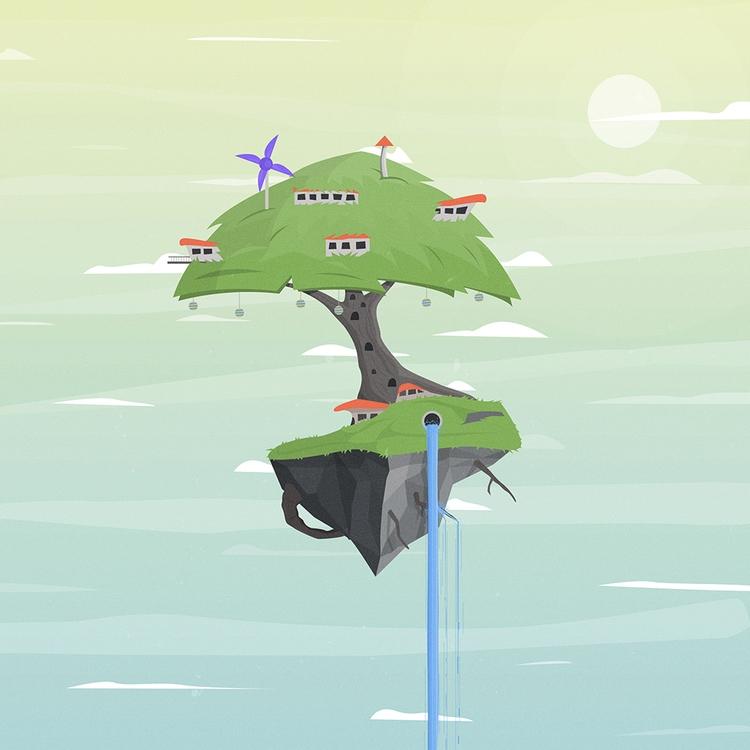 Random illustration :) Created - designmnl   ello